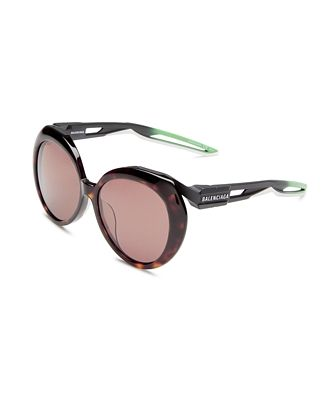 Balenciaga Women's Round Sunglasses, 56mm