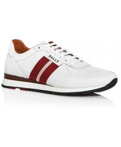 Bally Men's Aston Leather Low-Top Sneakers