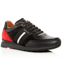 Bally Men's Aston Leather & Suede Lace Up Sneakers