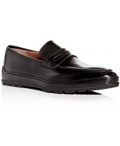 Bally Men's Relon Leather Apron-Toe Penny Loafers