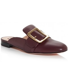 Bally Women's Janesse Buckled Mules