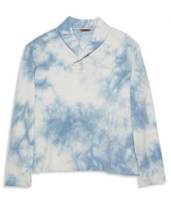 Barena Burchiello Fumega Tie Dye Shawl Collar Sweatshirt