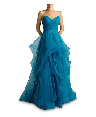 Basix Strapless Ball Gown