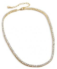 Baublebar Bennett Crystal Tennis Necklace, 16