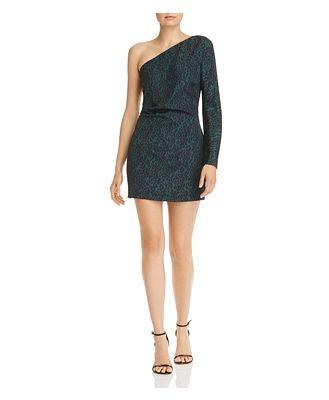 Bec & Bridge Animale Fever Silk Mini Dress