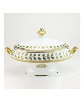 Bernardaud Constance Covered Vegetable Dish
