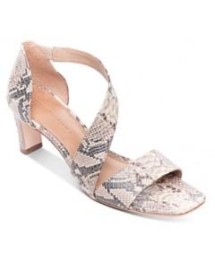 Bernardo Women's Camille Asymmetric Block Heel Sandals
