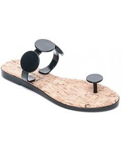 Bernardo Women's Jelly Disk & Cork Sandals