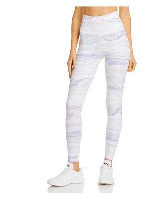 Beyond Yoga Olympus High-Waist Printed Leggings