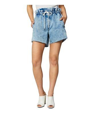 Blanknyc Drawstring Denim Shorts