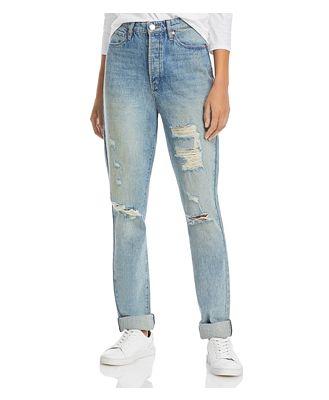 Blanknyc Ripped Boyfriend Jeans