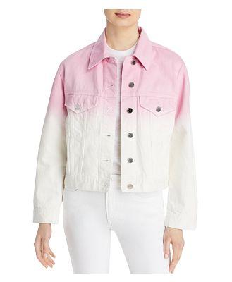 Blanknyc Tie Dye Denim Jacket