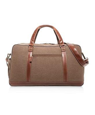 Boconi Bryant Lte Getaway Large Canvas Duffel Bag
