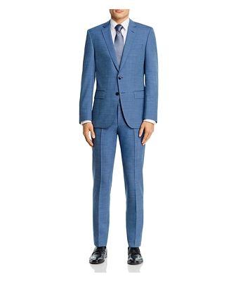 Boss Huge/Genius Tic Weave Slim Fit Suit