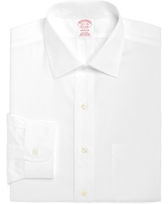 Brooks Brothers Non-Iron Solid Classic Fit Dress Shirt