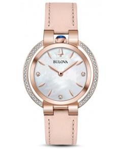Bulova Rubaiyat Rose Gold-Tone Watch, 35mm