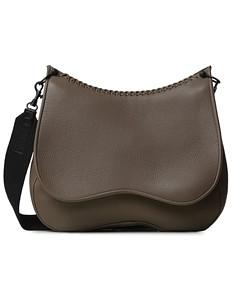 Callista Iconic Medium Leather Saddle Crossbody