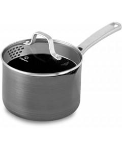 Calphalon Classic Nonstick Strain-and-Pour 2.5-Quart Saucepan with Cover