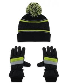 Capelli Boys' 2 Pc. Hat & Gloves Set - Big Kid