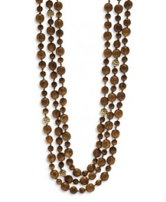 Capucine de Wulf Earth Goddess Triple Strand Bead Necklace, 36