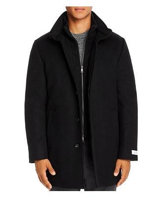 Cardinal of Canada Mont Royal Wool & Cashmere Regular Fit Car Coat