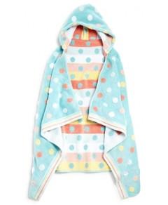Caro Home Dumbo Dot Kids Hooded Towel - 100% Exclusive
