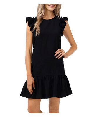 CeCe Ruffled Shift Dress