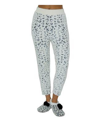 Cejoli Snow Cheetah Pants