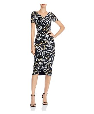 Chiara Boni La Petite Robe Ajak Printed Midi Dress - 100% Exclusive
