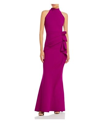 Chiara Boni La Petite Robe Gudrum Sleeveless Mermaid Gown