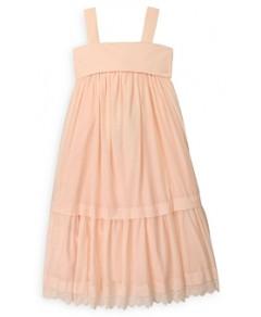 Chloe Girls' Cotton Tiered Sleeveless Dress - Big Kid