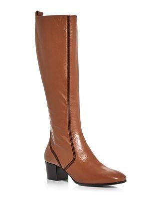 Chloe Women's Goldee Block Heel Boots