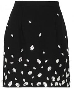 Christopher Kane Embellished Mini Skirt