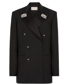 Christopher Kane Embellished Tuxedo Jacket