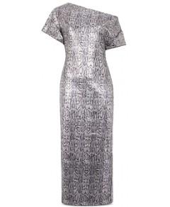 Christopher Kane Sequin Snake Print Dress