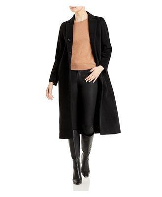 Cinzia Rocca Long Wing Collar Coat