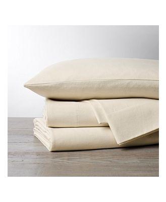 Coyuchi Cloud Brushed Organic Cotton Flannel Sheet Set, King