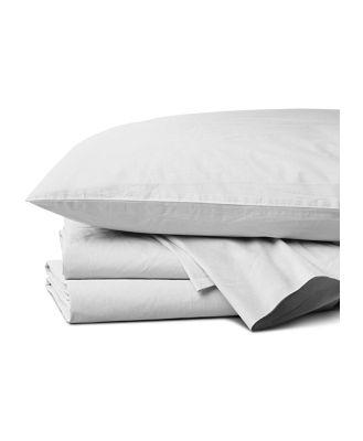 Coyuchi Organic Cotton 300TC Percale Sheet Set, California King