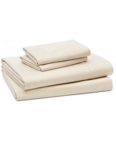 Coyuchi Organic Cotton 500TC Percale Sheet Set, Queen