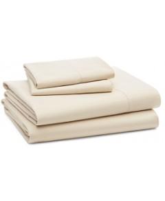 Coyuchi Organic Cotton 500TC Sateen Sheet Set, Queen
