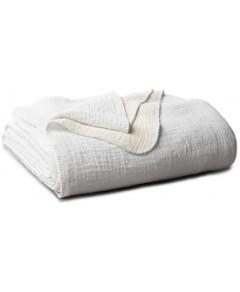 Coyuchi Organic Cotton Cozy Blanket, Full/Queen