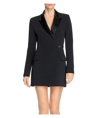 David Koma Tuxedo Mini Dress