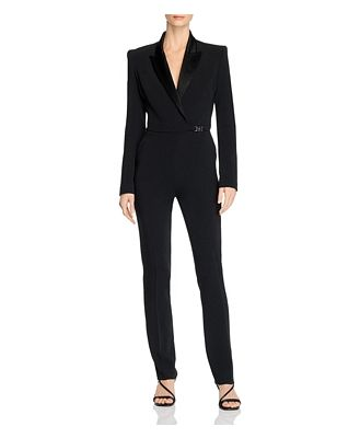 David Koma Tuxedo Tailored Jumpsuit