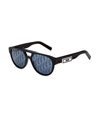 Dior Men's Brow Bar Round Sunglasses, 54mm