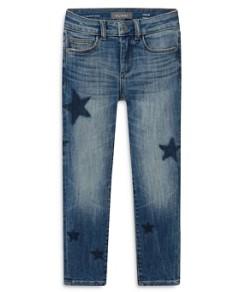 DL1961 Girls' Chloe Castor Star Print Skinny Jeans - Big Kid