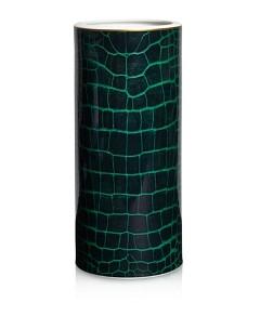 Domenico Vacca by Prouna Alligator Emerald Vase