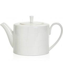 Domenico Vacca by Prouna Alligator White Teapot