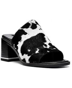 Donald Pliner Women's Block Heel Mule Sandals