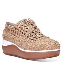 Donald Pliner Women's Lillo Woven Cork Platform Sneakers