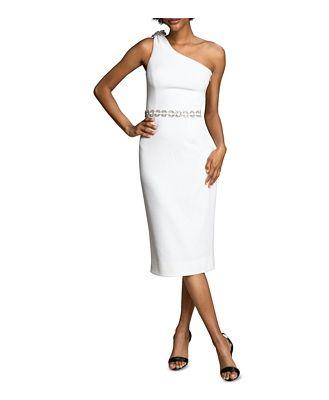 Dress the Population Noa Embellished One-Shoulder Dress